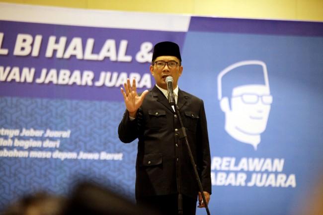 Wali Kota Bandung Ridwan Kamil. ANT/Fahrul Jayadiputra.