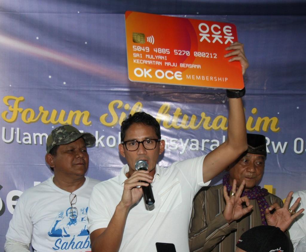 Wakil Gubernur DKI Jakarta Sandiaga Uno. Foto: ANT/Reno Esnir