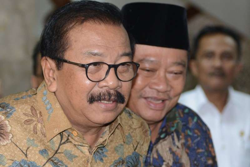 Gubernur Jawa Timur Soekarwo. Foto: Antara/Rosa Panggabean