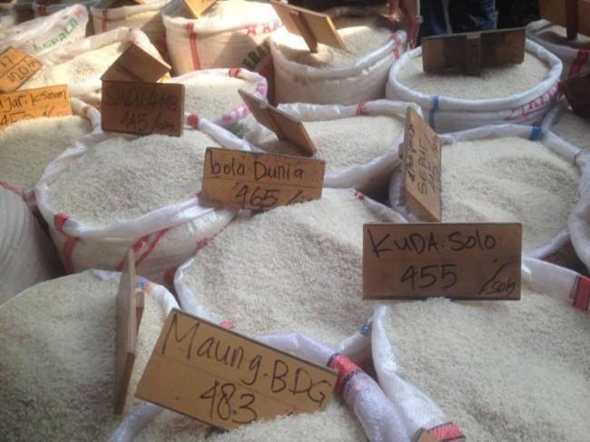 Ilustrasi penjual beras di Cipinang. (FOTO: MTVN/Desi Angriani)