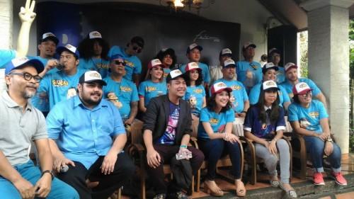 Tim produksi dan pengisi suara Si Juki (Foto: dok. metrotvnews)