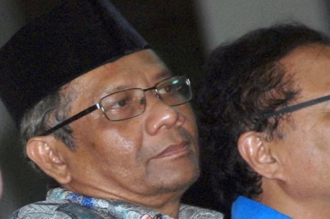 Mantan Ketua MK Mahfud MD -- ANT/Syaiful Arif