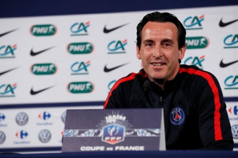 Pelatih PSG, Unai Emery. (THOMAS SAMSON / AFP)