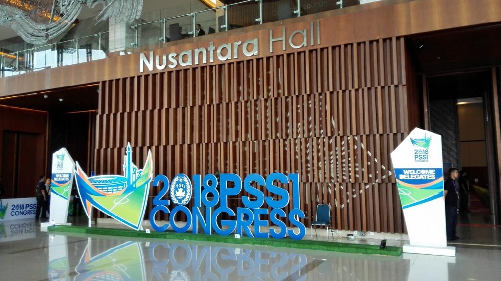 Tempat berlangsungnya Kongres PSSI 2018. (Foto: Apoy/Mtvn)