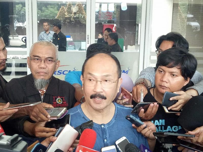 Mantan kuasa hukum Setya Novanto Fredrich Yunadi--Medcom.id/Arga Sumantri