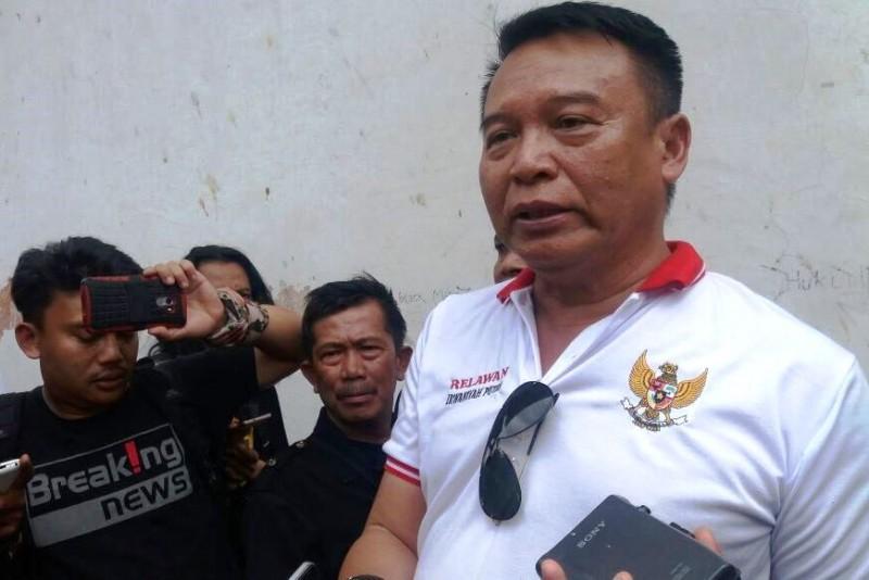 Bakal calon Gubernur Jawa Barat TB Hasanudin. Foto: Medcom.id/Oktavianus Dwi Pranata