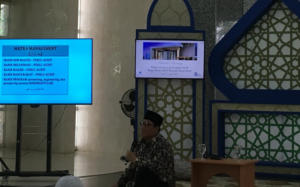 Sekretaris Jenderal DMI Imam Addaruqutni--Medcom.id/Dian Ihsan Siregar.