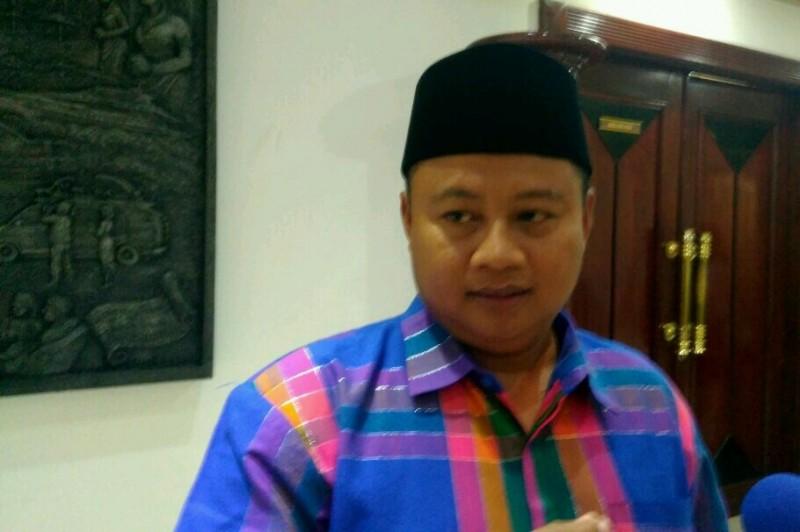 Bupati Tasikmalaya Uu Ruzhanul Ulum saat media visit ke kantor Media Group, Kedoya, Jakarta, Rabu 4 Oktober 2017. Foto: MTVN/Surya Perkasa