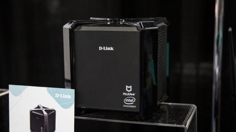 Gandeng McAfee, D-Link Pamer Router Teraman di CES 2018