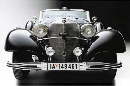 Mercedes-Benz 770 Grosser Offener Tourenwagen 1939 bekas Adolf