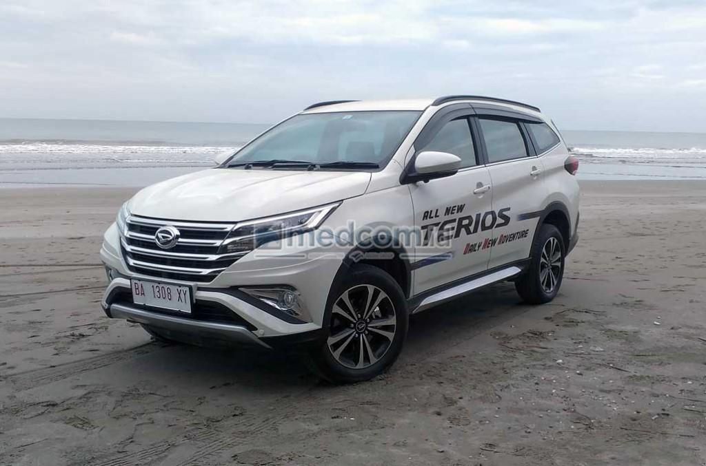 ?All New Terios senjata baru Daihatsu di segmen Low MPV. Medcom.id/M. Bagus Rachmanto