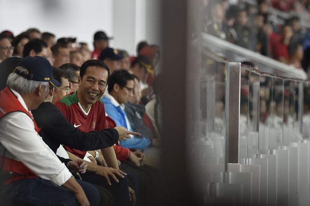 Jokowi Resmikan Stadion Utama Gelora Bung Karno