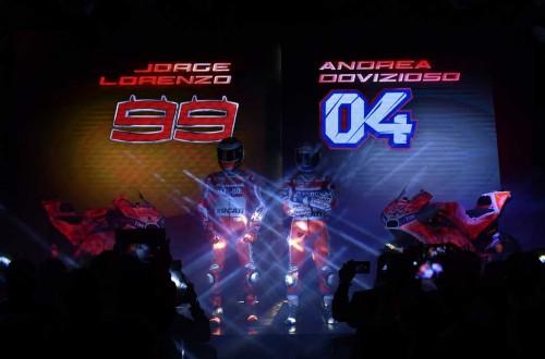 Ducati siap luncurkan senjata barunya di musim 2018 hari ini.