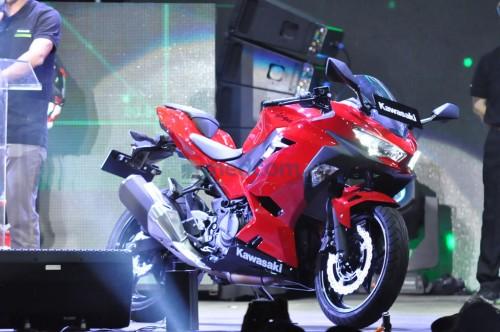 All New Ninja 250 mulai dikirim pertengahan bulan ini. medcom/
