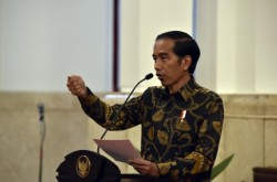 Presiden: Impor untuk Perkuat Cadangan Beras