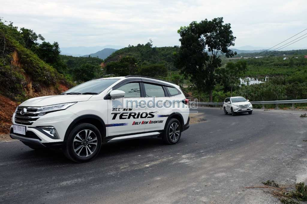 Seru-Seruan Jajal All New Daihatsu Terios di Padang