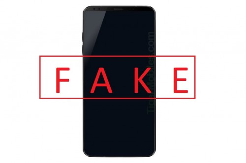 Gambar LG G7 yang beredar di internet merupakan gambar LG G6