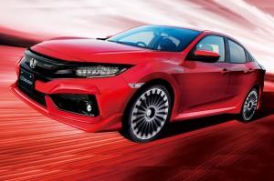 Honda Civic Type-R Makin 'Ganteng' di Tangan Mugen
