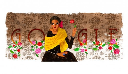 Gambar Google Doodle hari ini.