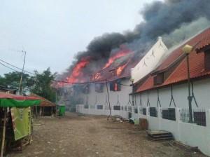 Jakarta Maritime Museum Catches Fire