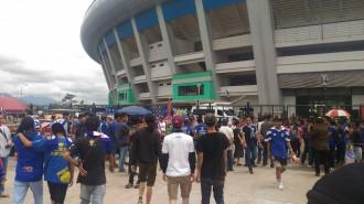 Jelang Laga Pembuka, Bobotoh Mulai Padati Stadion GBLA