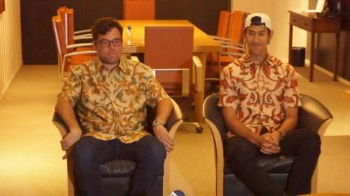 Sean Gelael (kanan) (Foto: Ist)