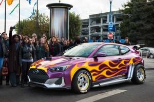 Hyundai Veloster 2019, 'Bintang' Baru di Sekuel Film Ant Man