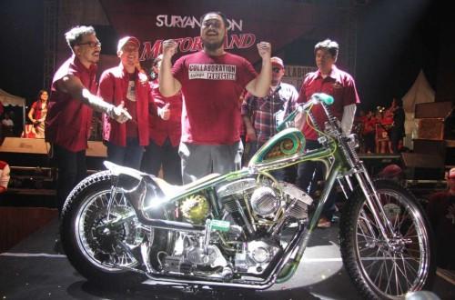 Jawara custom bike Suryanation Motorland, siapkan mental terbaik