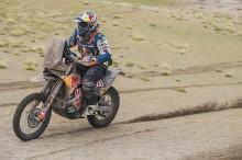 Van Beveren Mundur, Rider KTM Langsung Unggul Jauh