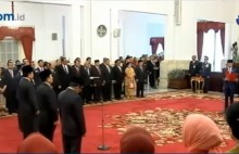 Moeldoko Dilantik jadi Kepala Staf Kepresidenan