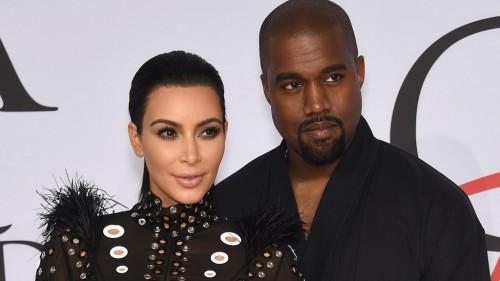 Kim Kardashia dan Kanye West (Foto: gettyimages)