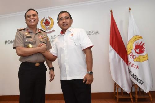 Chef de Mission (CdM) Indonesia dalam Asian Games 2018 Komjen