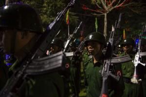 Bentrokan Polisi dan Warga Buddha di Rakhine, 7 Orang Tewas