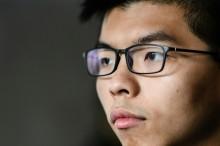 Hong Kong Democracy Activist Joshua Wong Jailed over Protest