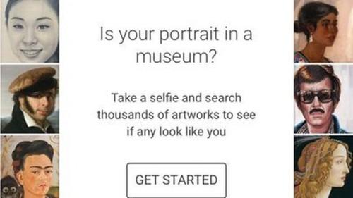 Anda bisa mencocokkan foto selfie Anda dengan lukisan ternama di