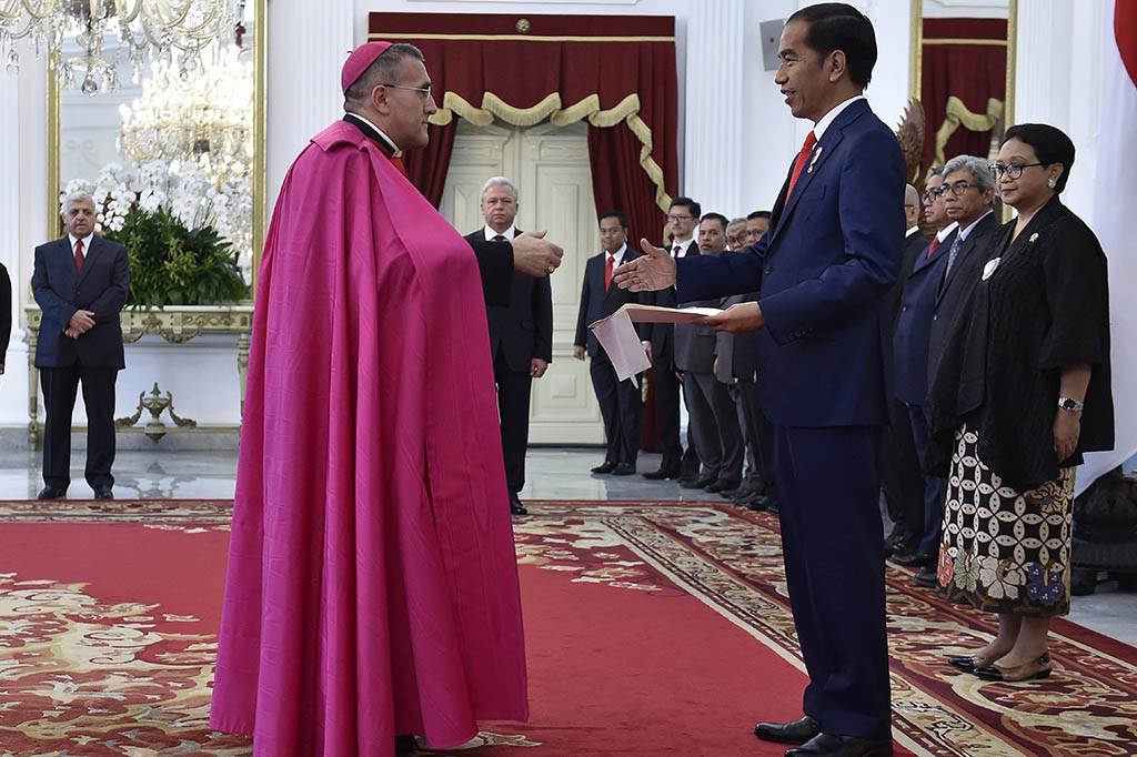 Dubes Vatikan Kagumi Keberagaman Indonesia