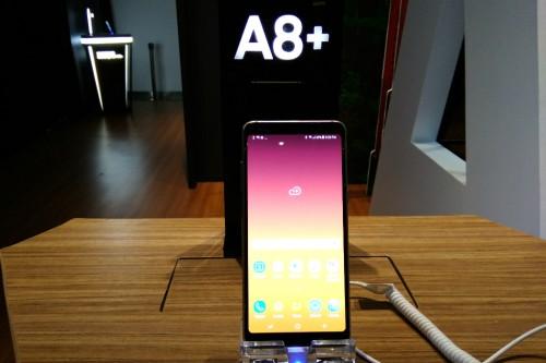 Samsung Galaxy A8+ (2018).
