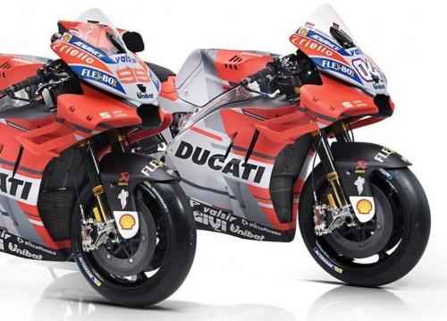 Tampilan Desmosedici GP18, tunggangan anyar Ducati di MotoGP