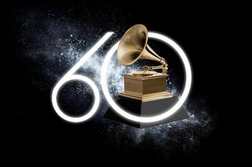 Logo perayaan Grammy Awards ke-60 (Foto: Grammy.com)