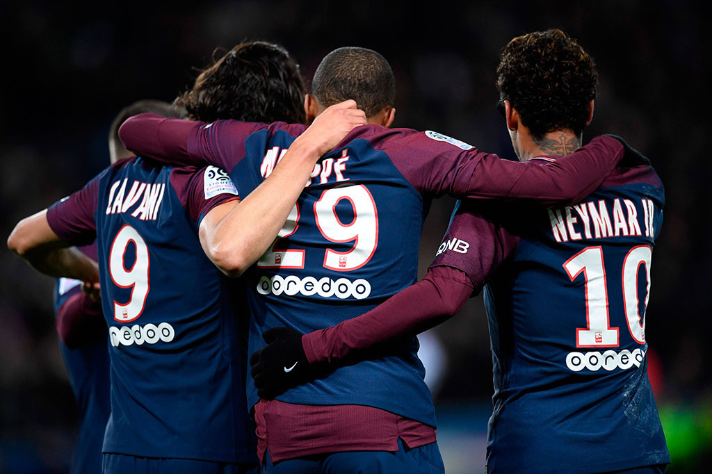 Neymar 4 Gol, PSG Lumat Dijon 8-0