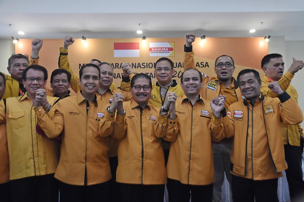 Hanura Kubu Sudding Angkat Daryatmo Jadi Ketua Umum