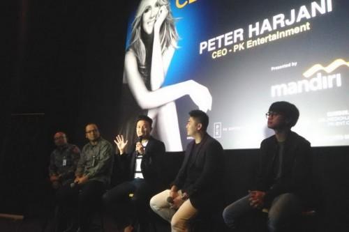 Peter Harjani (tengah), CEO PK Entertainment (Foto: medcom/purba)