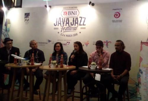 Jumpa pers Java Jazz 2018 (Foto: medcom/cecylia)