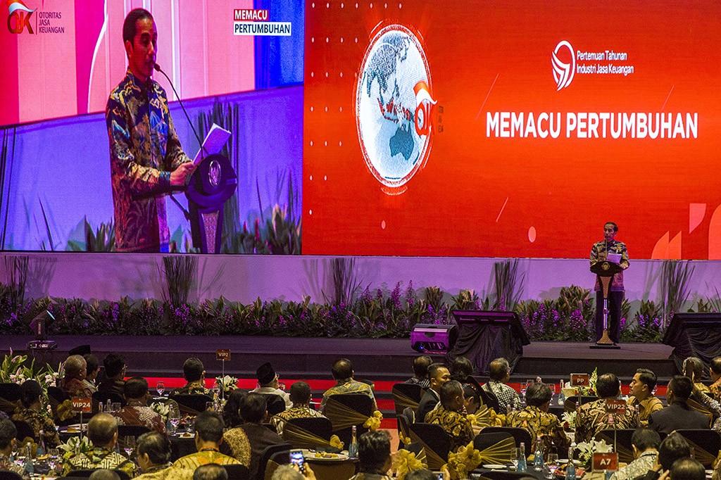 Jokowi Akui Perekonomian Indonesia Masih Lambat