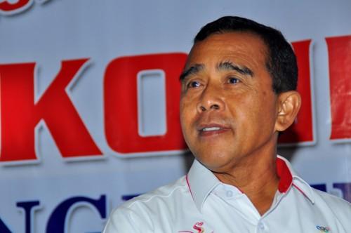 Ketua Umum KONI Pusat Tono Suratman (Foto: ANTARA FOTO/Indrayadi