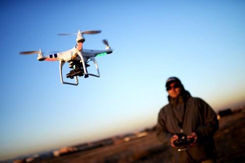 Tren menerbangkan drone mulai ditanggapi serius oleh pemerintah