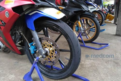 Ban balap motor bebek dari Pirelli bisa saja digunakan harian.