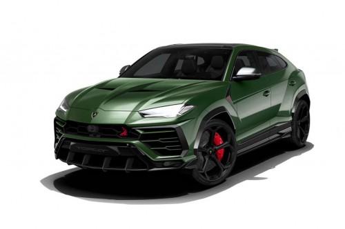 Tampilan Lamborghini Urus setelah diberikan body kit dari