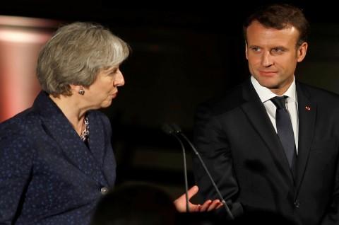 Inggris dan Prancis Sepakati Perjanjian Perbatasan