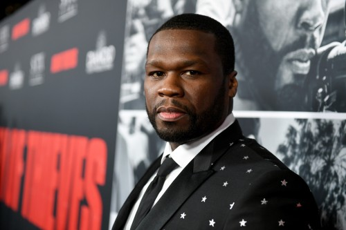 50 Cent attends the premiere of STX Films' Den of Thieves at